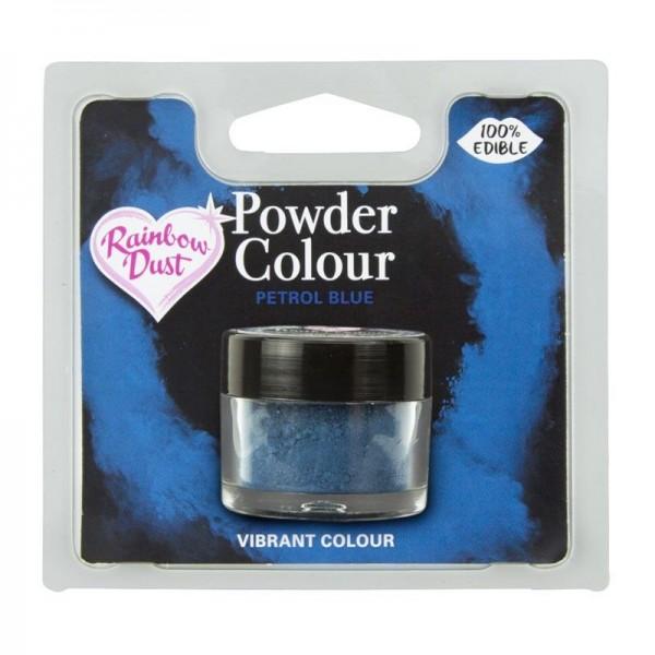 Farbpulver petrolblau - petrol blue