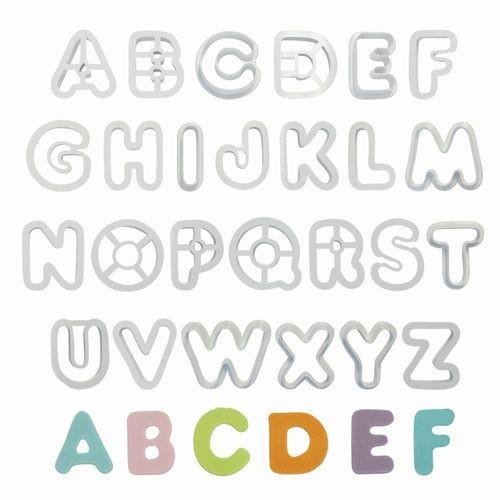 PME Alphabet Cutter Set 26-teilig