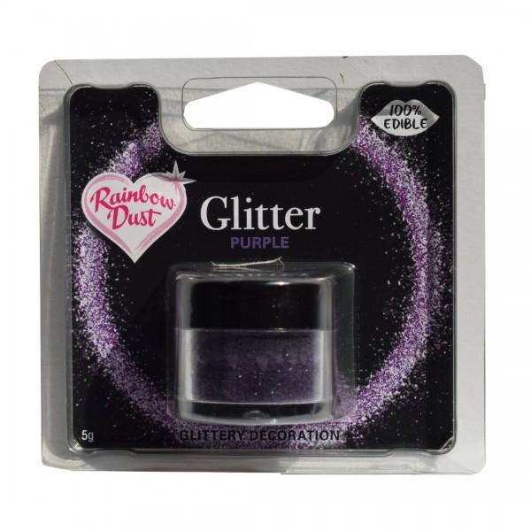 RD Edible Glitter - Purple 5 g