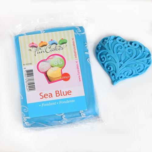 FunCakes Fondant sea blue - blau 250 g
