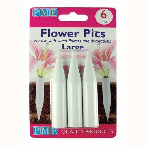 PME Flower Pics Large 6 Stück