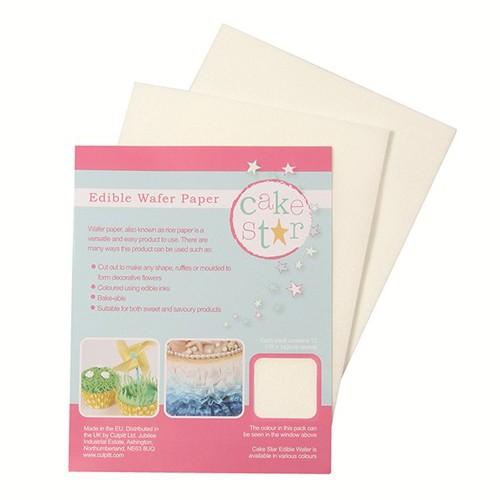 Wafer Paper / Reispapier / Esspapier, 12 Blätter
