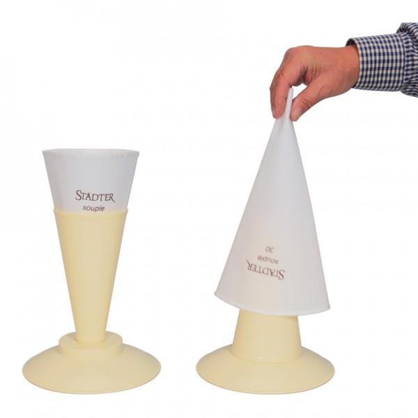 Absetzständer für Spritzbeutel ca. ø 19,5 x 20 cm