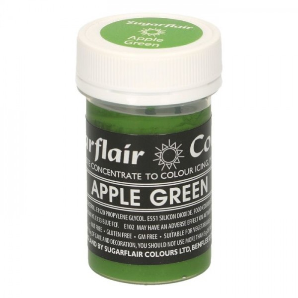 Sugarflair Speisefarben-Paste apple green