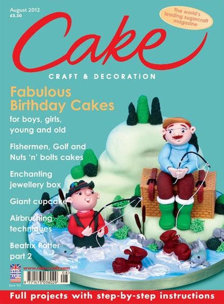 Cake Craft & Decoration August 2012, englisch