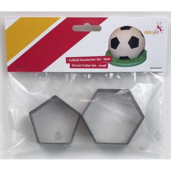 Fußball-Ausstecher-Set klein