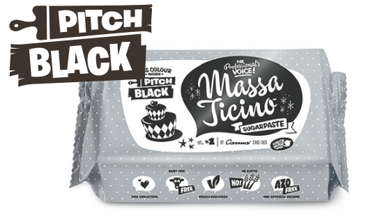 Massa Ticino™ Tropic schwarz 1kg