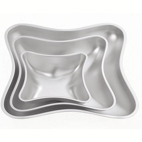 Wilton Kissen Backformen, 3er Set