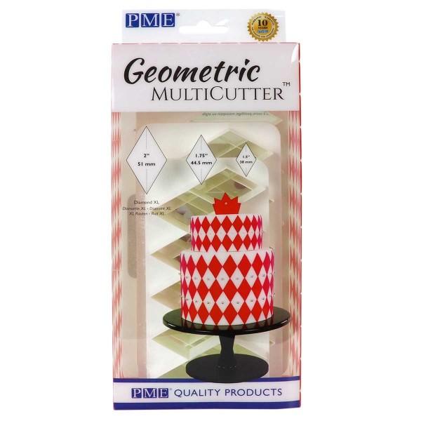 PME Geometric Multicutter Diamant XL 3-er Set