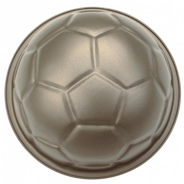 Backform Pepe der Fußball ca. ø 22 x 11 cm mit Fünfeck-Ausstecher