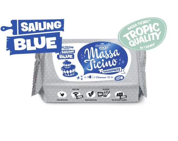 Massa Ticino™ Tropic blau 250 g