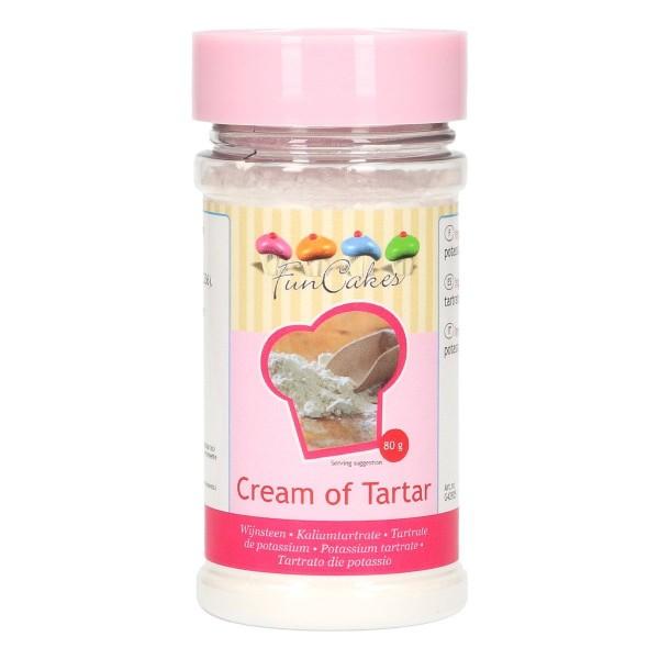 FunCakes Cream of Tartar / Weinstein (Kaliumtartrate) -80g-