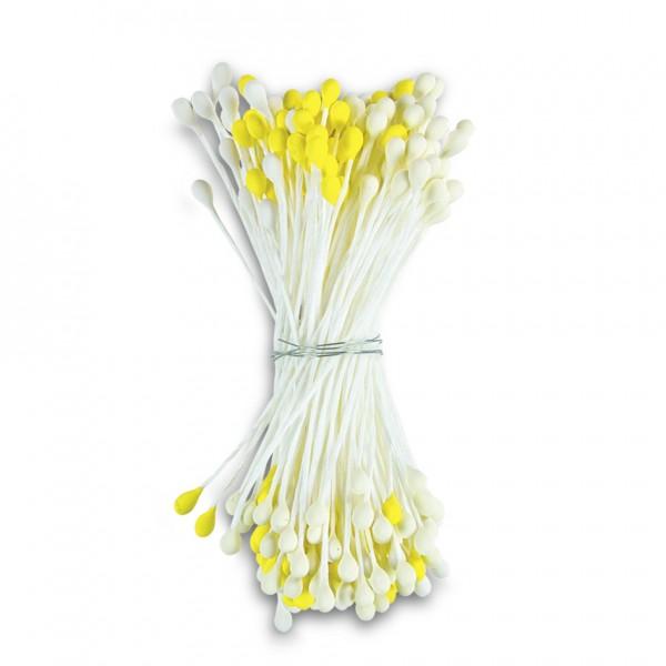 Staubblüten / Blütenpollen ca. 5 cm Gelb