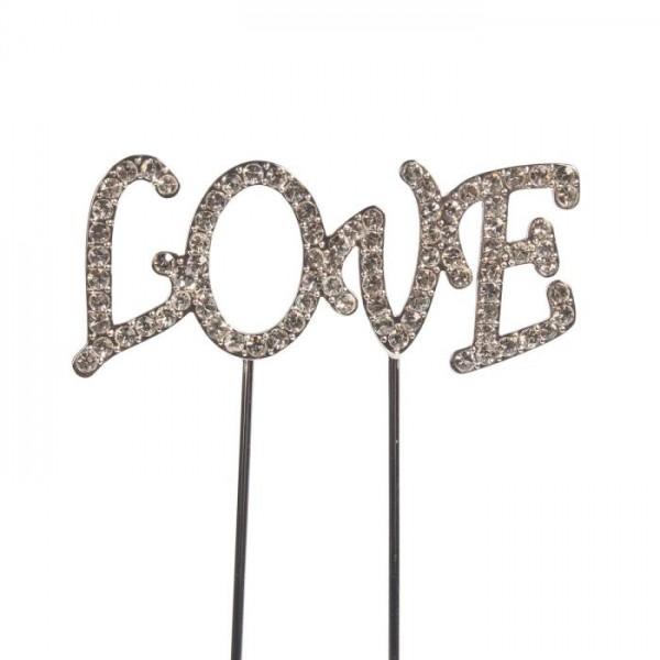 Cake Star Cake Topper Schriftzug Love