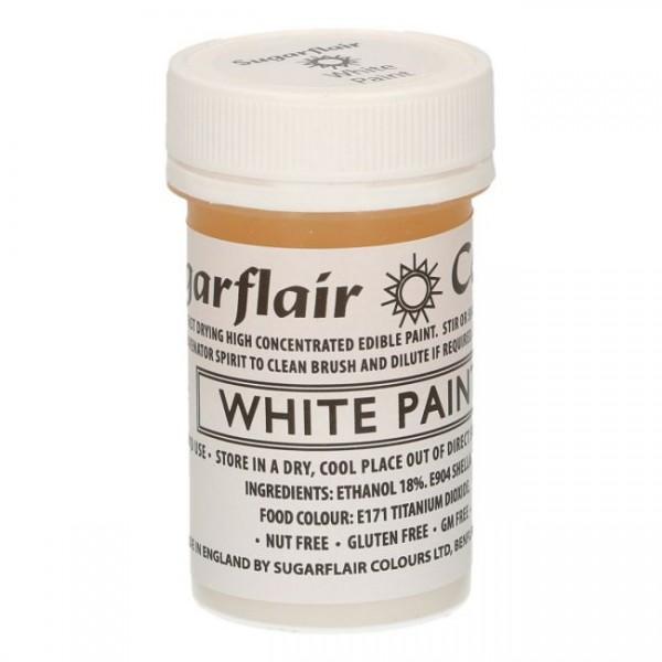 Sugarflair Edible Matt Paint -White-