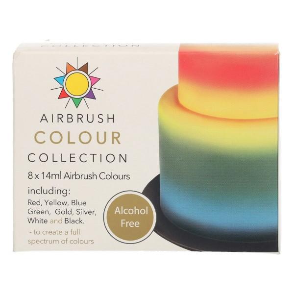 Airbrush Farben 8er Set ohne Alkohol