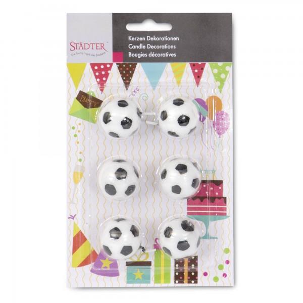 Fußball ca. 2,5 cm Weiß