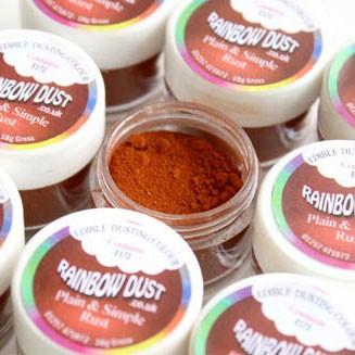 Farbpulver rostbraun - rust
