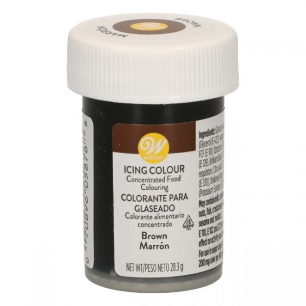 Wilton Icing Color - Brown - 28g
