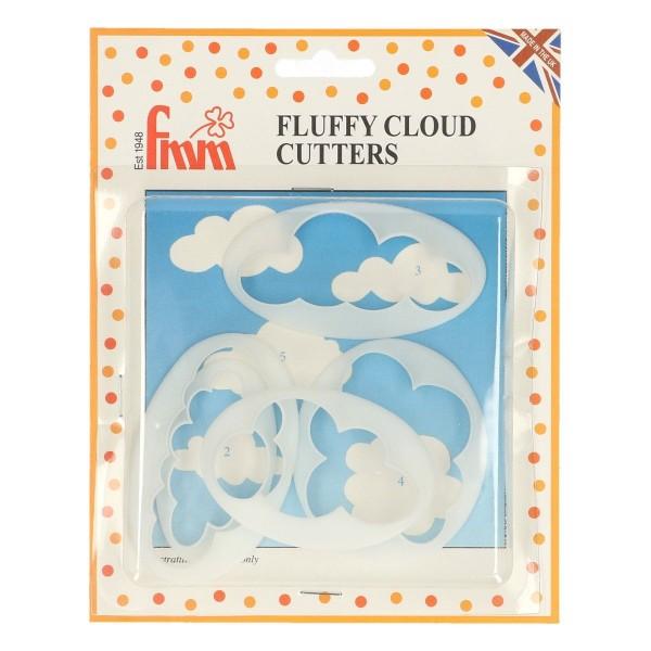 FMM Ausstecher Wolken 5-teiliges Set