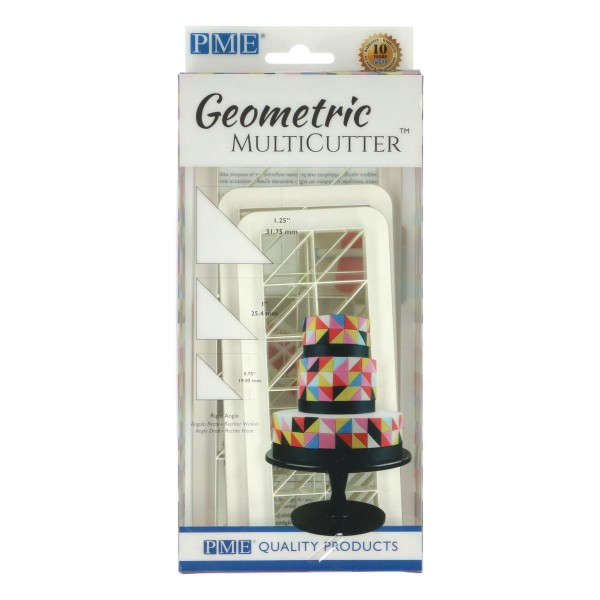 PME Geometric Multicutter Dreieck 3-er Set