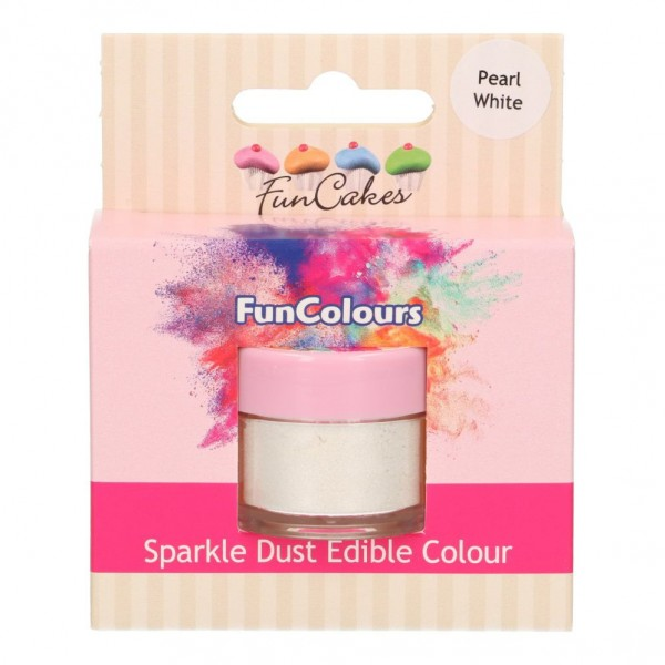 FunColours Glanzpuderfarbe - Pearl White
