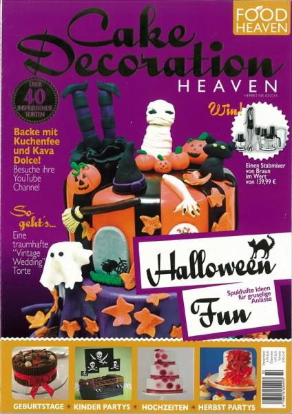 Cake Decoration Heaven Nr. 10/2014 Halloween