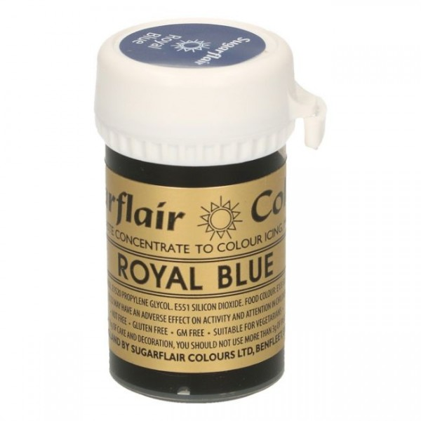 Sugarflair Speisefarben-Paste royal blue - königsblau