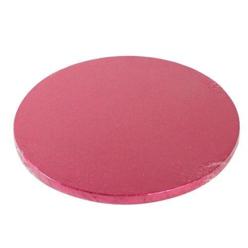 Cake Drum rund 30,5 cm - cerise