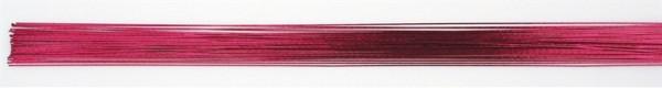 Blumendraht 24 metallic bright pink