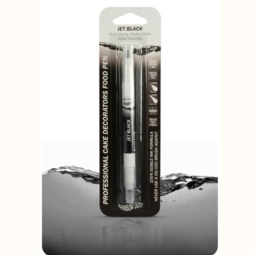 Speisefarben-Stift schwarz - Rainbow Dust