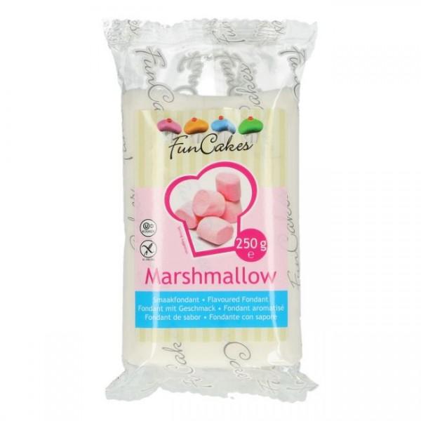 FunCakes Fondant mit Marshmallowgeschmack weiß 250g