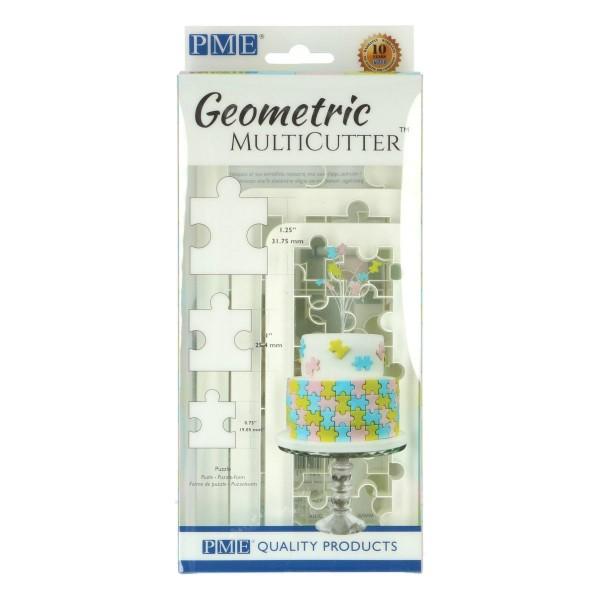 PME Geometric Multicutter Puzzle 3-er Set