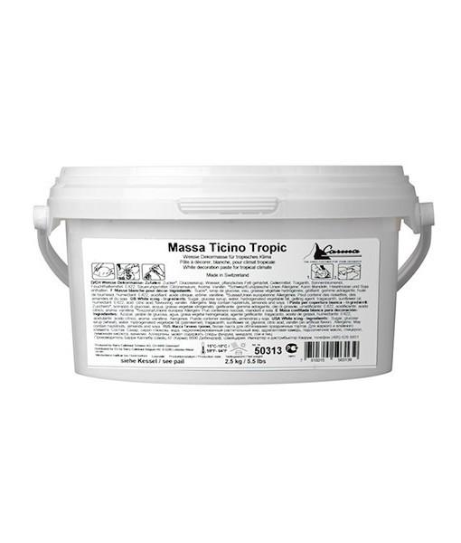 Massa Ticino Tropic weiß 2,5 kg Eimer