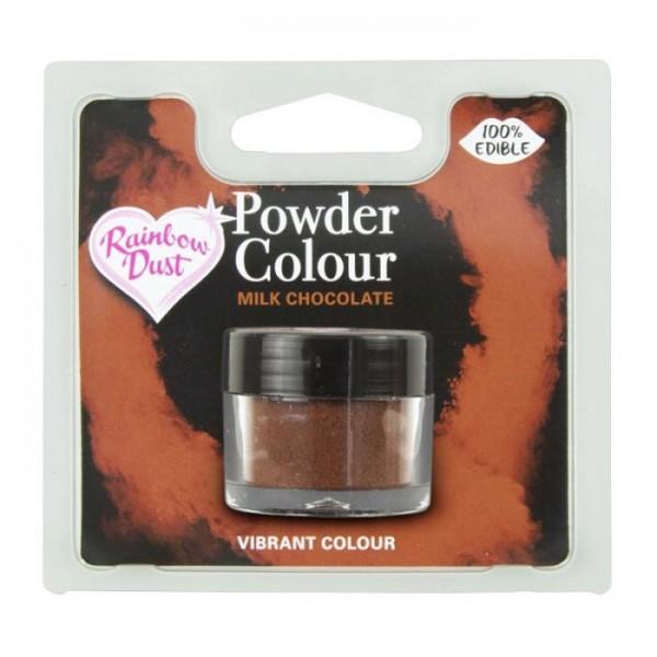 Farbpulver milchschokolade - milk chocolate