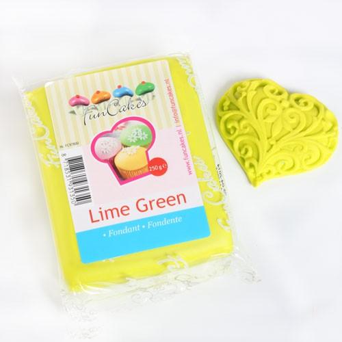FunCakes Fondant lime 250 g