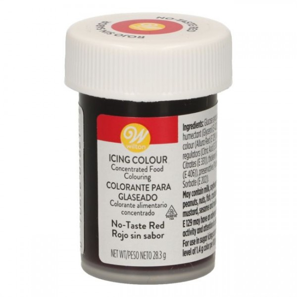 Wilton Icing Color - Red no taste - 28g