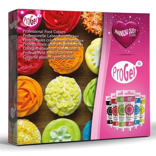 RD ProGel® 6er Set Lebensmittelfarben