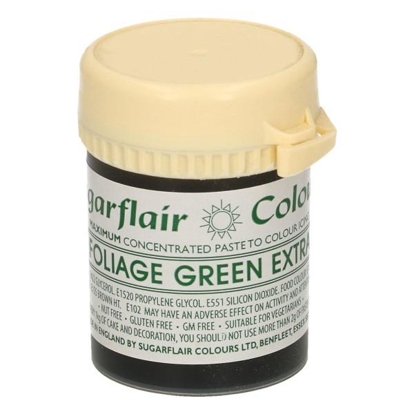 Sugarflair Speisefarben-Paste grün extra