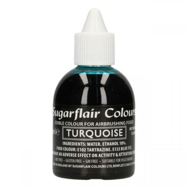 Sugarflair Airbrush Colouring -Türkis- 60ml-