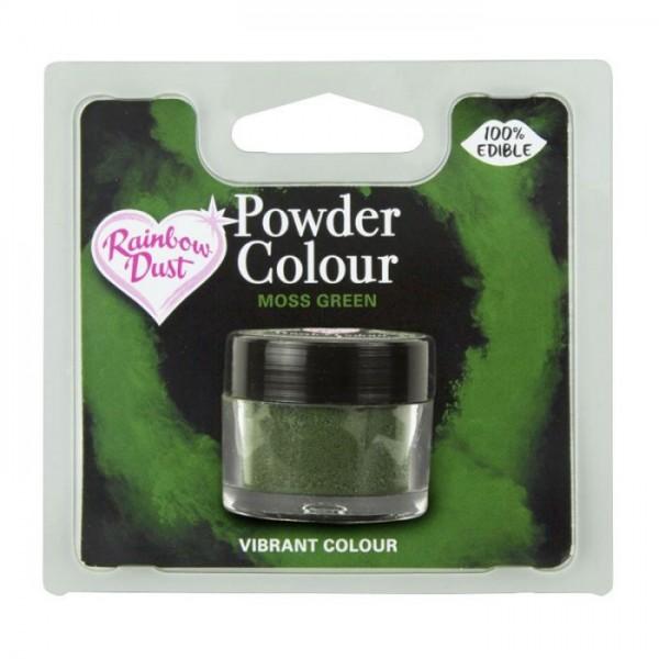 Farbpulver moss green - moos grün