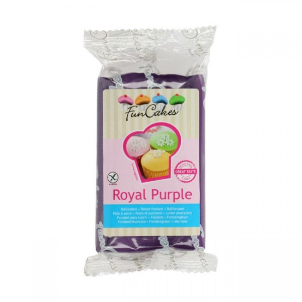 FunCakes Fondant Royal Purple 250g
