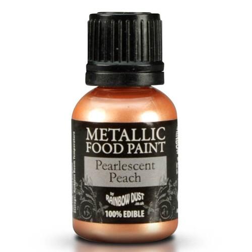 RD Metallic Food Paint Pearlescent Peach