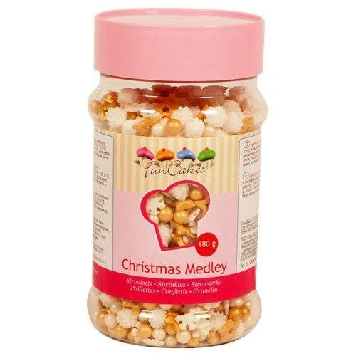 Zuckerdekor Weihnachts Medley 180 g