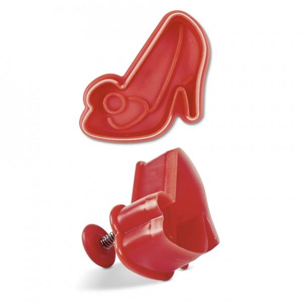 Schuh / Pumps ca. 6 cm Rot