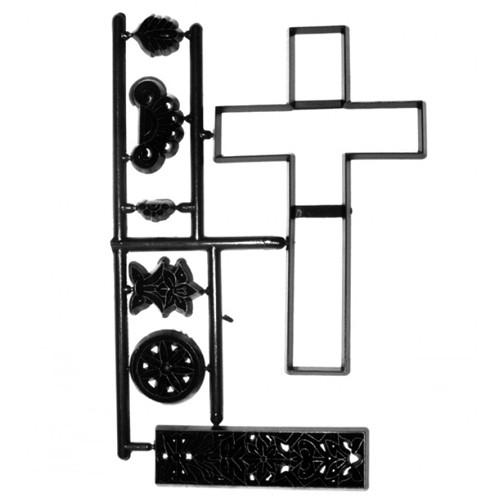 Patchworkcutter großes Kreuz 11 cm, 7-teilig