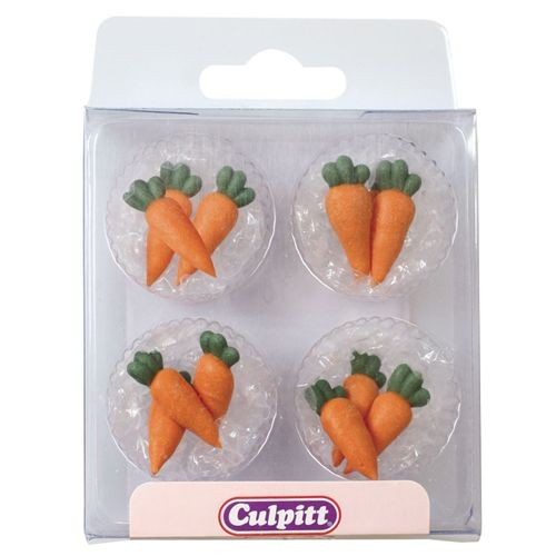 Culpitt Zuckerdekoration Karotten 12 St.