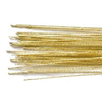 Blumendraht 24 gold