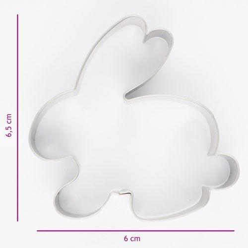 Ausstecher Hase 6 cm