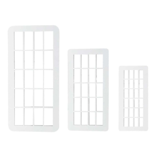 PME Geometric Multicutter Brick/Mauerstein 3-er Set